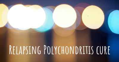Relapsing Polychondritis cure