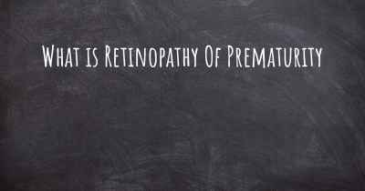 What is Retinopathy Of Prematurity