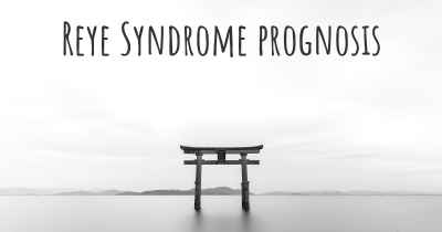 Reye Syndrome prognosis