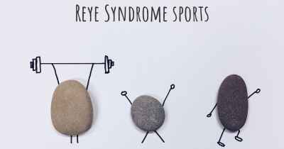 Reye Syndrome sports