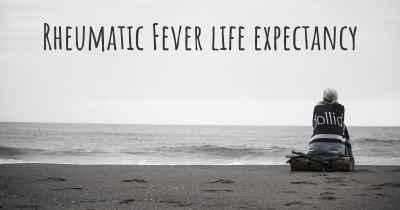 Rheumatic Fever life expectancy