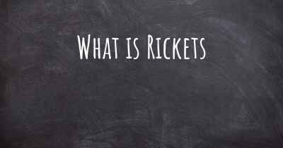What is Rickets