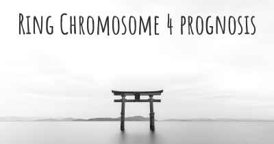 Ring Chromosome 4 prognosis