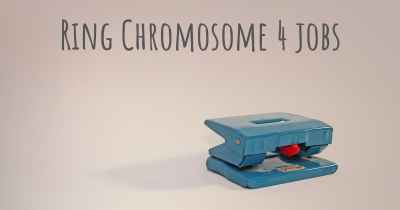 Ring Chromosome 4 jobs