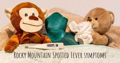 Rocky Mountain Spotted Fever symptoms