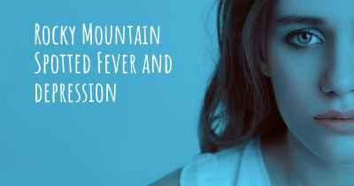 Rocky Mountain Spotted Fever and depression