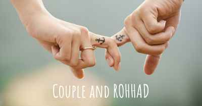 Couple and ROHHAD