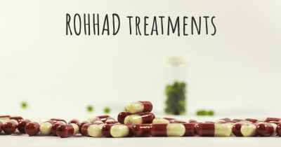 ROHHAD treatments