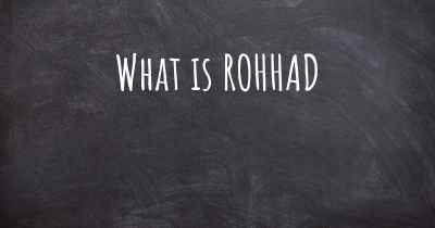 What is ROHHAD
