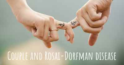 Couple and Rosai-Dorfman disease