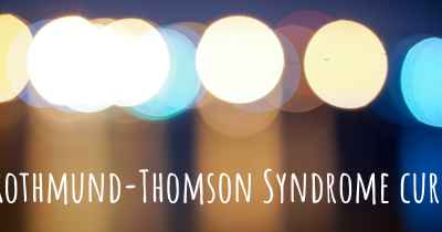 Rothmund-Thomson Syndrome cure