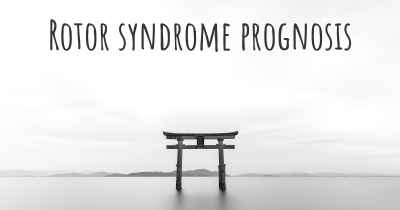 Rotor syndrome prognosis