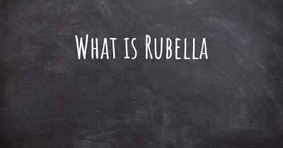 What is Rubella