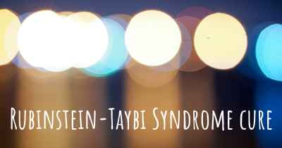 Rubinstein-Taybi Syndrome cure