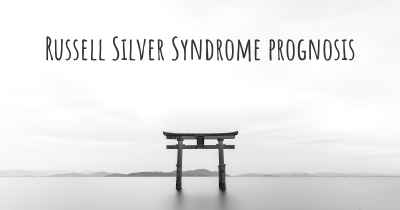 Russell Silver Syndrome prognosis