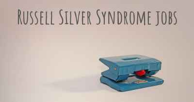 Russell Silver Syndrome jobs