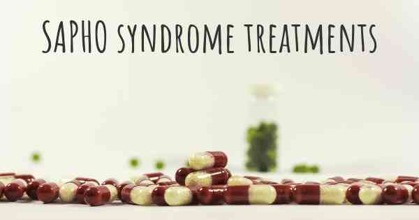 SAPHO syndrome treatments