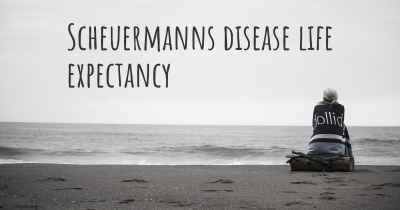 Scheuermanns disease life expectancy