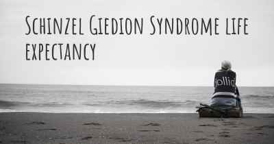Schinzel Giedion Syndrome life expectancy