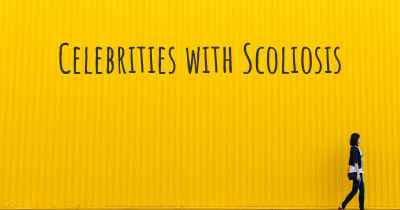 Celebrities with Scoliosis