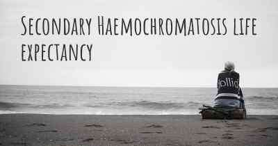 Secondary Haemochromatosis life expectancy