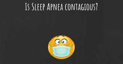 Is Sleep Apnea contagious?
