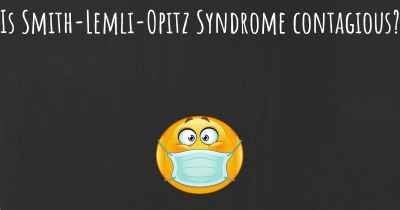 Is Smith-Lemli-Opitz Syndrome contagious?