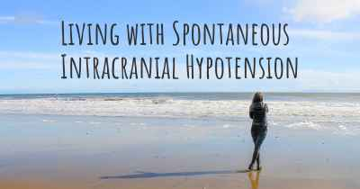 Living with Spontaneous Intracranial Hypotension