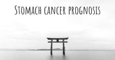 Stomach cancer prognosis