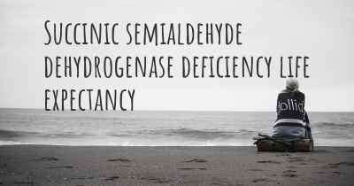 Succinic semialdehyde dehydrogenase deficiency life expectancy