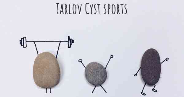 is it advisable to do exercise when affected by tarlov cyst