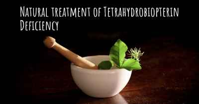 Natural treatment of Tetrahydrobiopterin Deficiency