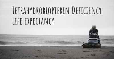 Tetrahydrobiopterin Deficiency life expectancy
