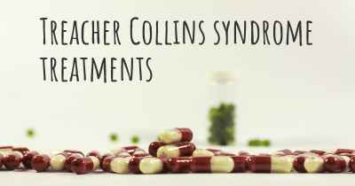 Treacher Collins syndrome treatments