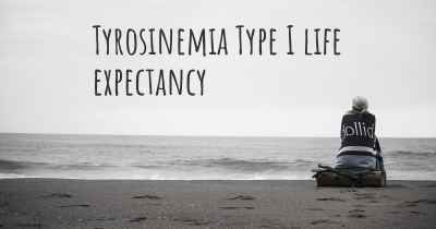 Tyrosinemia Type I life expectancy