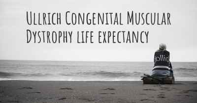 Ullrich Congenital Muscular Dystrophy life expectancy