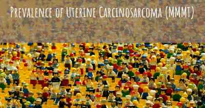 Prevalence of Uterine Carcinosarcoma (MMMT)