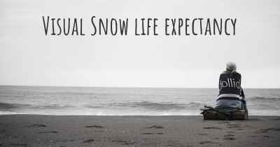 Visual Snow life expectancy