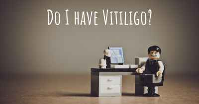 Do I have Vitiligo?