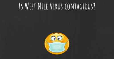 Is West Nile Virus contagious?