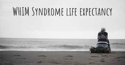 WHIM Syndrome life expectancy