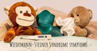 Wiedemann-Steiner Syndrome symptoms