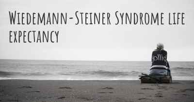 Wiedemann-Steiner Syndrome life expectancy