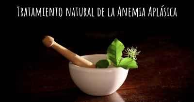 tratamiento natural anemia cronica