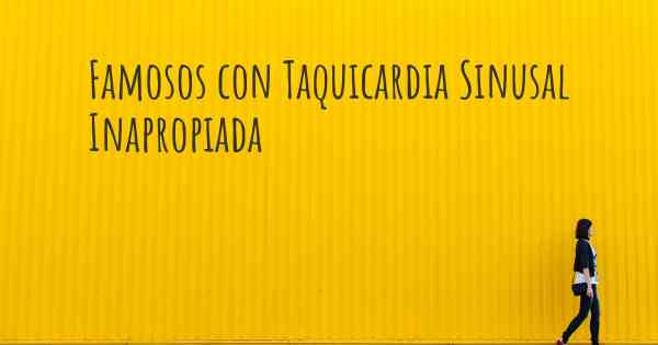 KEEP CALM AND TAQUICARDIA SINUSAL INAPROPIADA