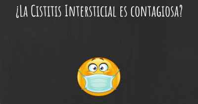 ¿La Cistitis Intersticial es contagiosa?