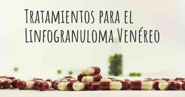 linfogranuloma venereo cura tratamiento