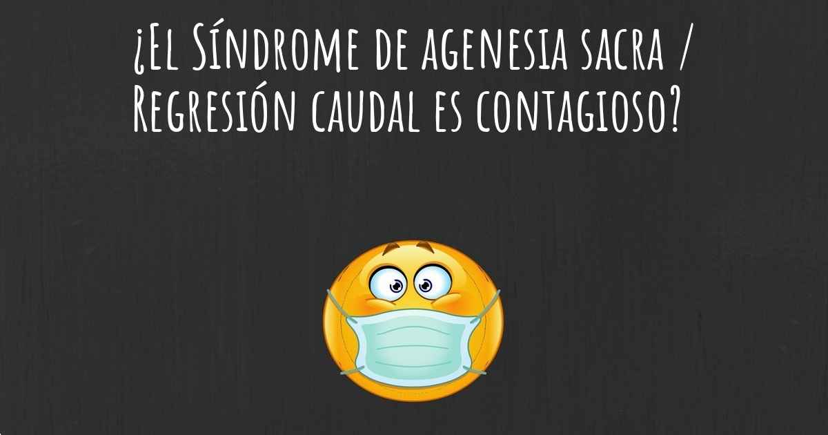 sindrome agenesia sacral