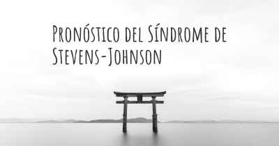 Pronóstico del Síndrome de Stevens-Johnson