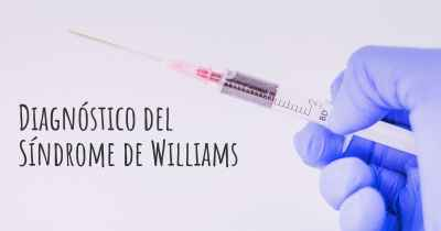 Diagnóstico del Síndrome de Williams